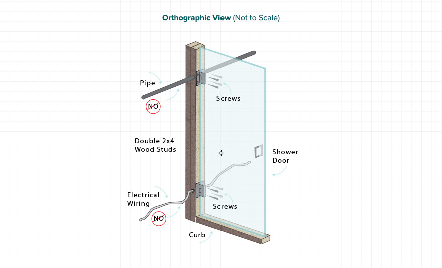 Shower Door Design Tip
