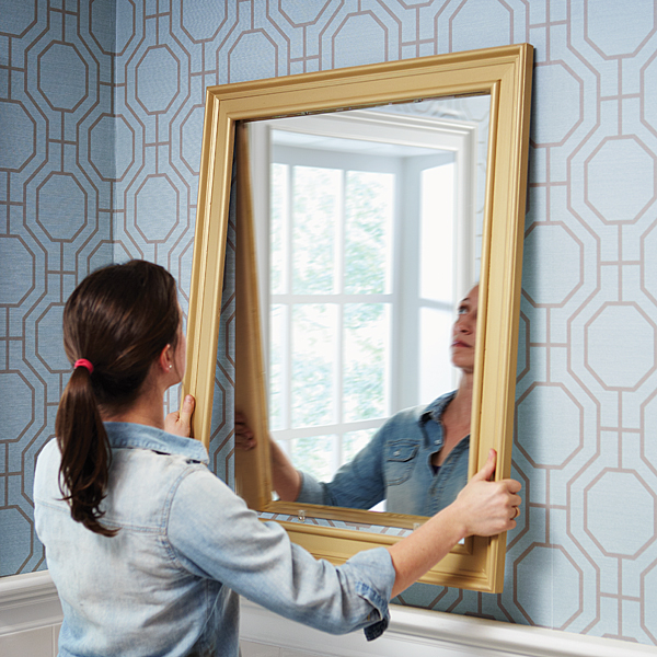 Frame Your Existing Mirror With Ease